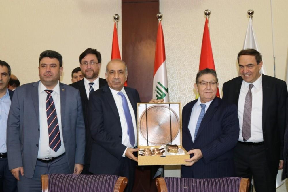 DTSO heyetinden Erbil'e çıkarma