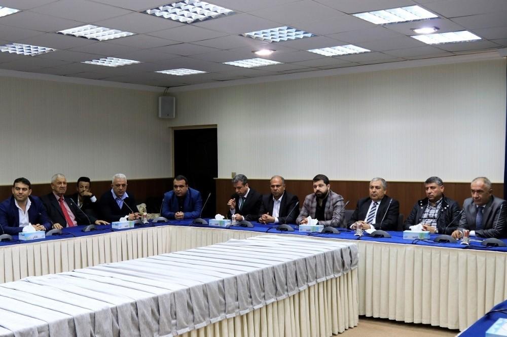 DTSO heyetinden IKBY Dışişleri Bakanı Safeen Dizayee'ye ziyaret