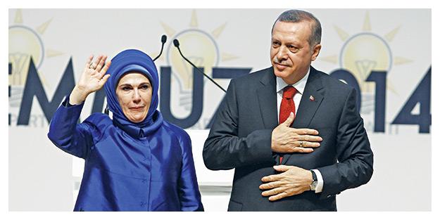 Dualar Erdoğan için