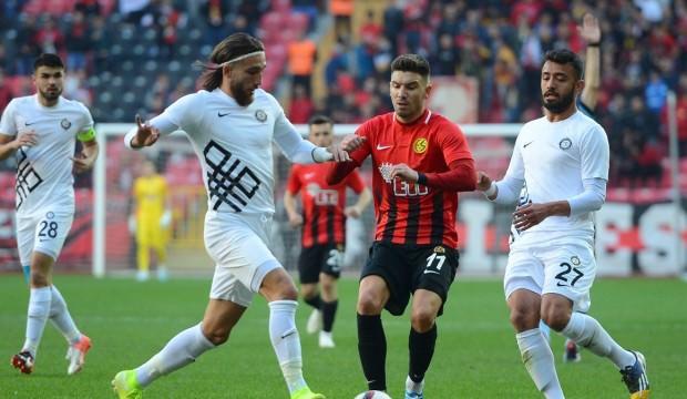Düelloda kazanan Eskişehirspor