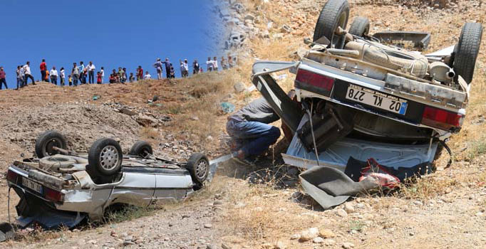 Düğün yolunda feci kaza: 1 kişi öldü, 3 kişi yaralandı