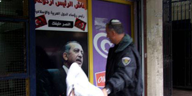 Dükkanında İsrail polisinin saldırısına uğrayan Filistinli Maraka: Allah Erdoğan'ı korusun