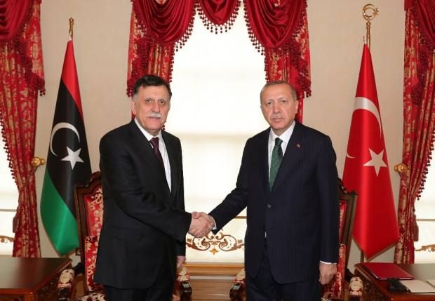 Dün Türkiye'deydi! Sarrac'tan Libyalılara tarihi çağrı