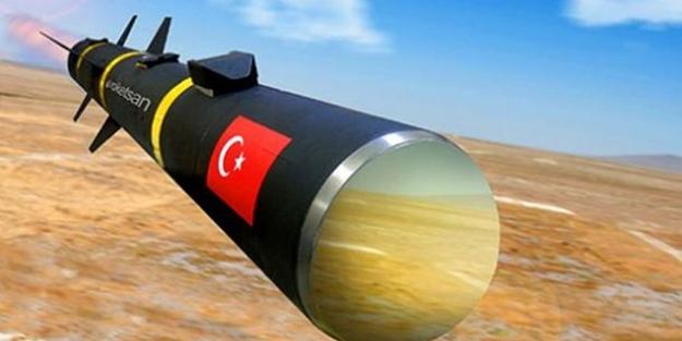 Dünya devi Türk füzelerini aldı