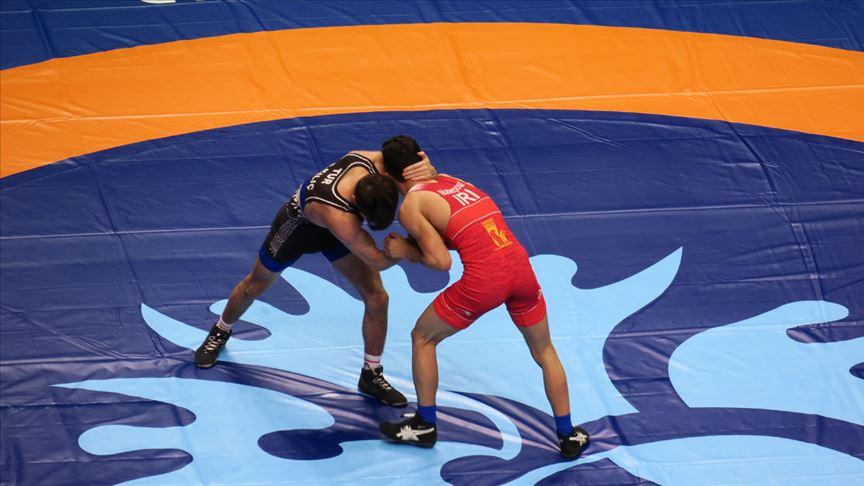Dünya Güreş Şampiyonası Kazakistan'da başladı