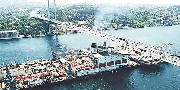 Dünya para basıyor Türkiye seyrediyor Hem Boğaz güvenliğimiz hem ekonomimiz için Kanal İstanbul'un yapılması şart