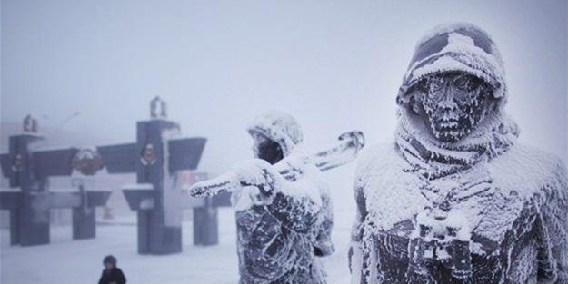 Dünyanın en soğuk köyü -71 derece