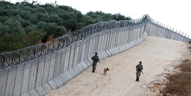Dünyanın en uzun 3. duvarı Suriye sınırına örüldü