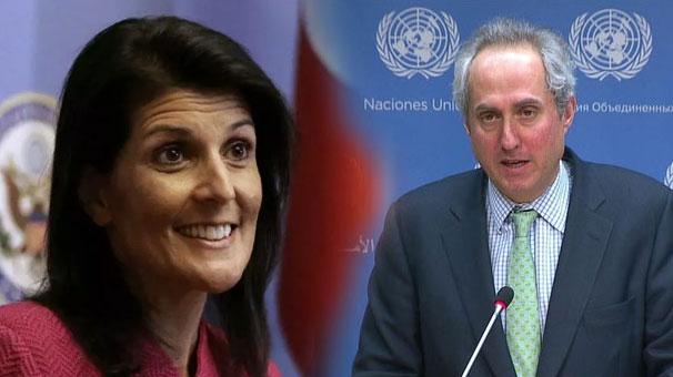Dünyayı sarsan istifa sonrası Birleşmiş Milletler'den flaş açıklama