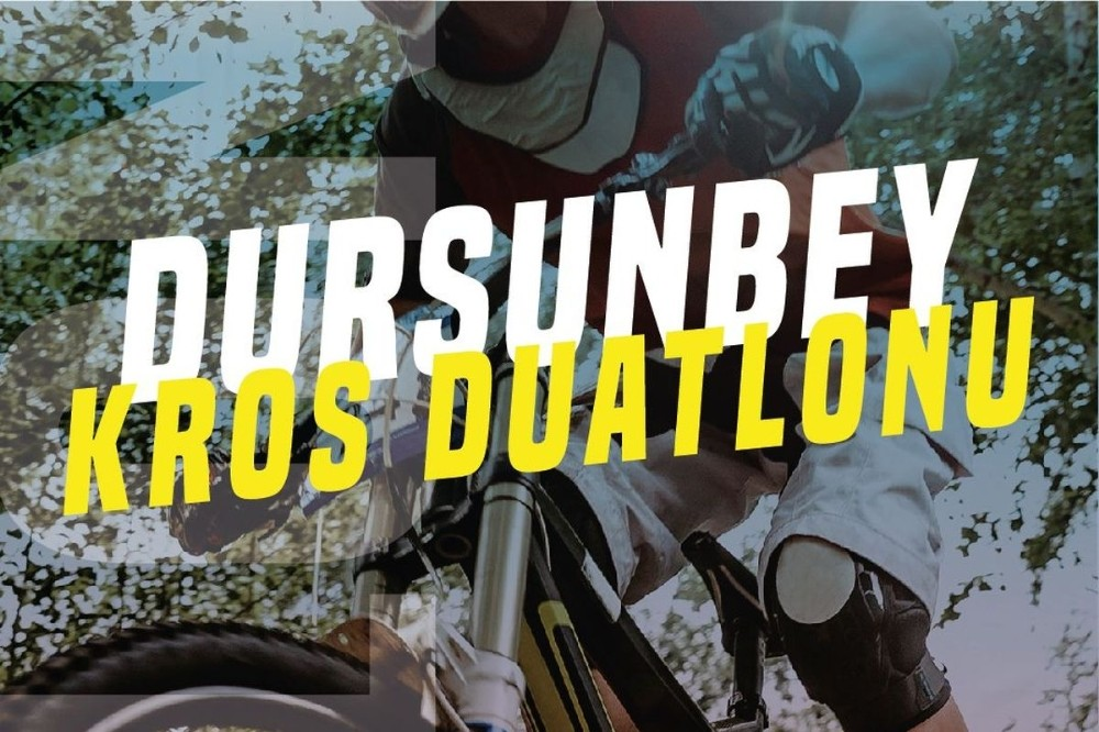 Dursunbey'de Kros Duatlon heyecanı