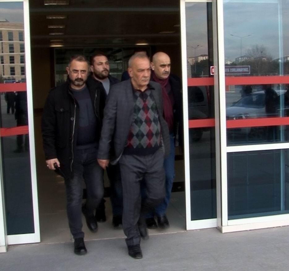 Duruşmaya gelen husumetlisine adliye önünde kurşun yağdıran zanlı tutuklandı