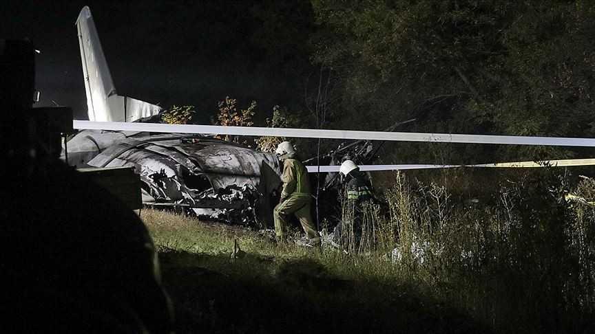 Düşen Ukrayna uçağında ölü sayısı 26'ya çıktı
