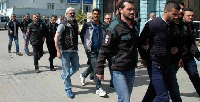Düzce'de uyuşturucu operasyonu: 6 gözaltı