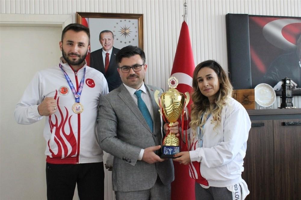Düzceli Sporcu Avrupa Şampiyonu oldu