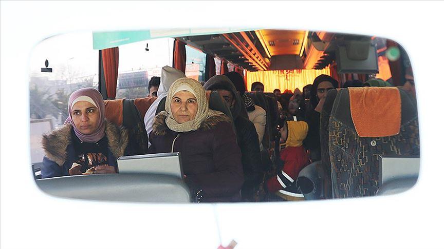 Düzensiz göçmenler Edirne'ye gitmeye devam ediyor