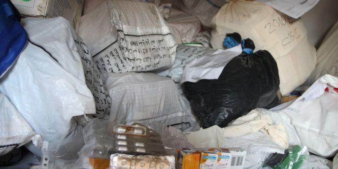 Van'da 49 bin 467 paket kaçak ilaç ele geçirdi