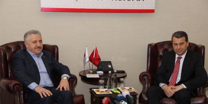 Arslan: Eskişehir'in Antalya'ya bağlanmasını önemsiyoruz