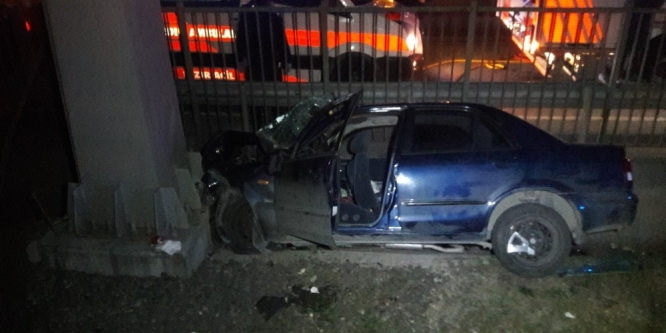 Avcılarda kaza: 2'si ağır 3 yaralı
