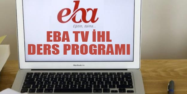 EBA TV İmam Hatip Lisesi günlük haftalık ders program