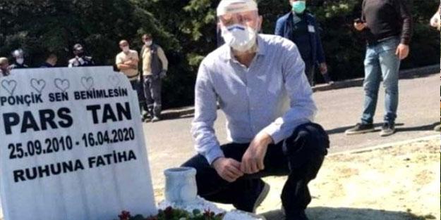 Ebru Şallı'nın, oğlunun mezar taşına yazdırdığı yazı duygulandırdı ...