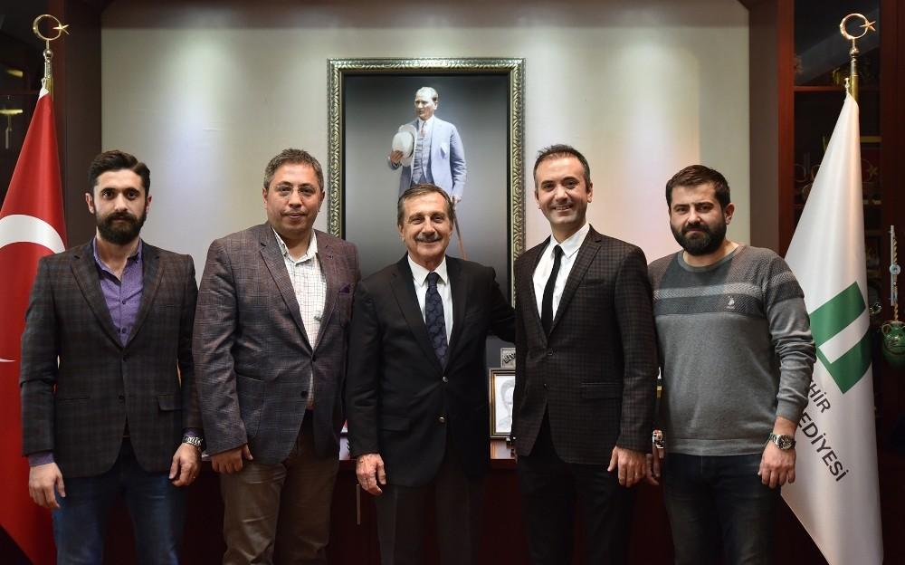 Eczacılardan Başkan Ataç'a ziyaret