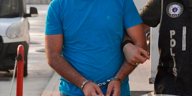 Edirne'de yakalanan FETÖ şüphelisi yakalanarak gözaltına alındı
