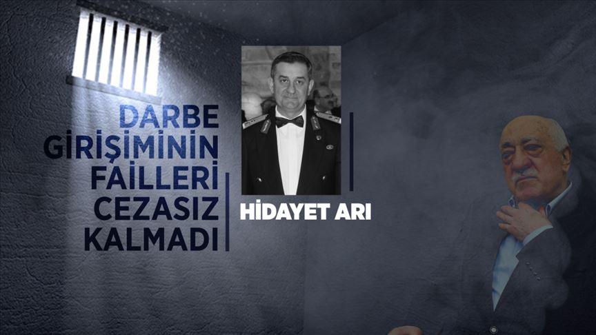 Edirne'de zırhlı aracı kışladan çıkartan darbeci Hidayet Arı'ya müebbet hapis cezası verildi