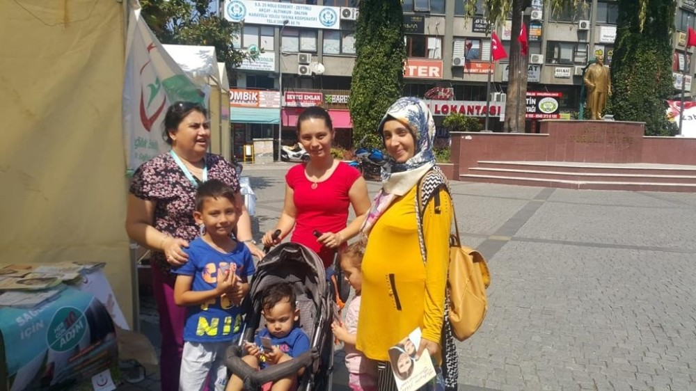 Edremit'te 'Halk Sağlığı' etkinlikleri