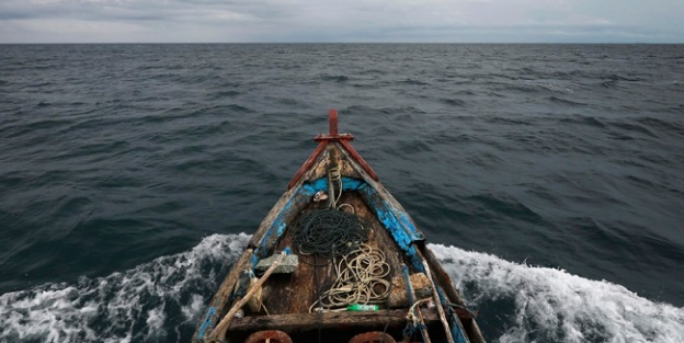Balıkçıların ağına ceset takıldı