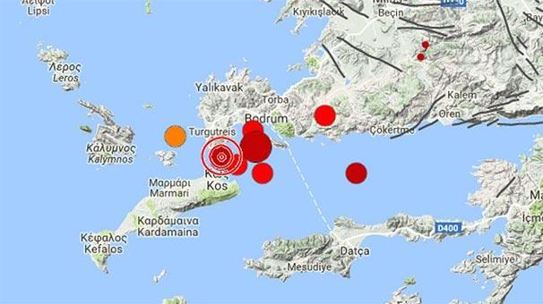 Ege sallandı, Kandilli depremin büyüklüğünü yükseltti! Tsunami 30 cm...