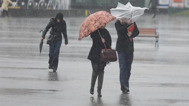 Ege ve iç kesimlere yağış uyarısı