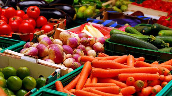 Ege'nin yaş meyve sebze ihracatı yüzde 35 yükseldi