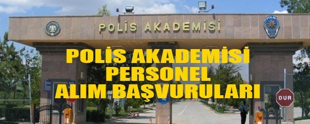 EGM polis akademisi öğretim görevlisi alımı yapacak