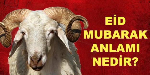 Eid mubarak anlamı? Eid mubarak ne demek? Eid mubarak hangi dil?