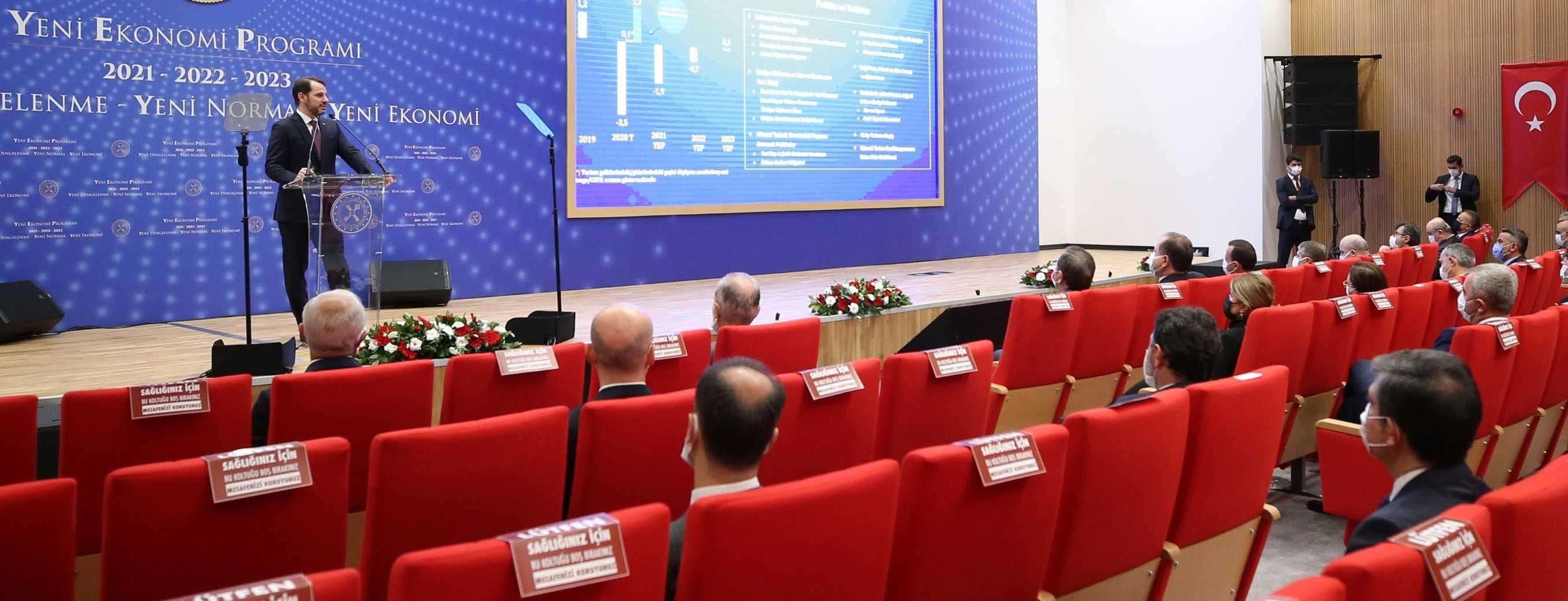 Ekonomistler de YEP'i olumlu karşıladı: V Tipi toparlanma sürecek Türkiye hızla büyüyecek