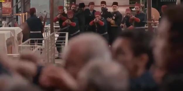 Ekrana kilitleyen anlar! Sultan Abdulhamid Han'a suikast girişimi