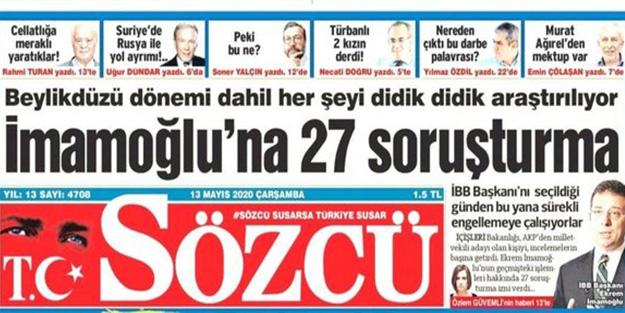 Ekrem İmamoğlu'nu korurken yine tosladılar! Sözcü'nün skandal iddialarına bakanlıktan açıklama