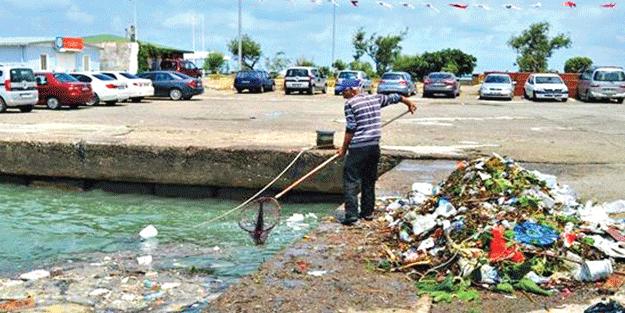 Ekrem'in çöpleri müsilajı patlattı