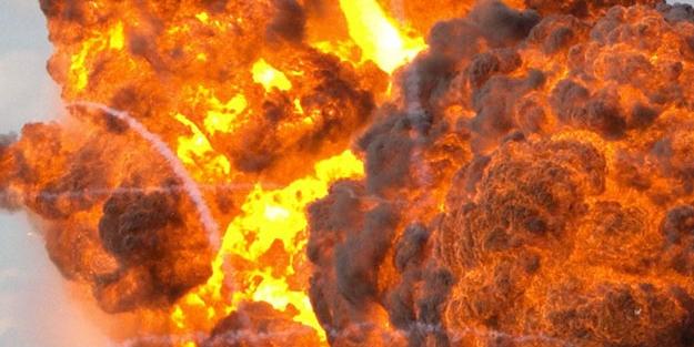 El Bab'da patlama! 1 kişi ağır yaralı