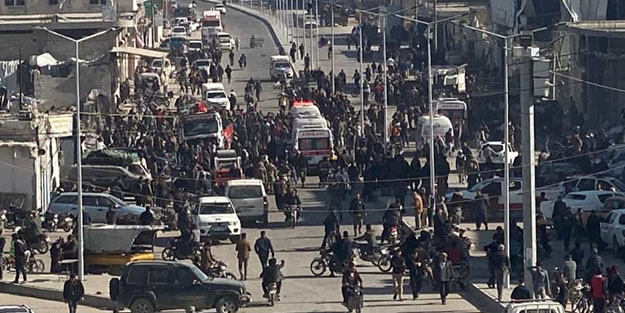 El Bab'da patlama! Çok sayıda ölü ve yaralı var