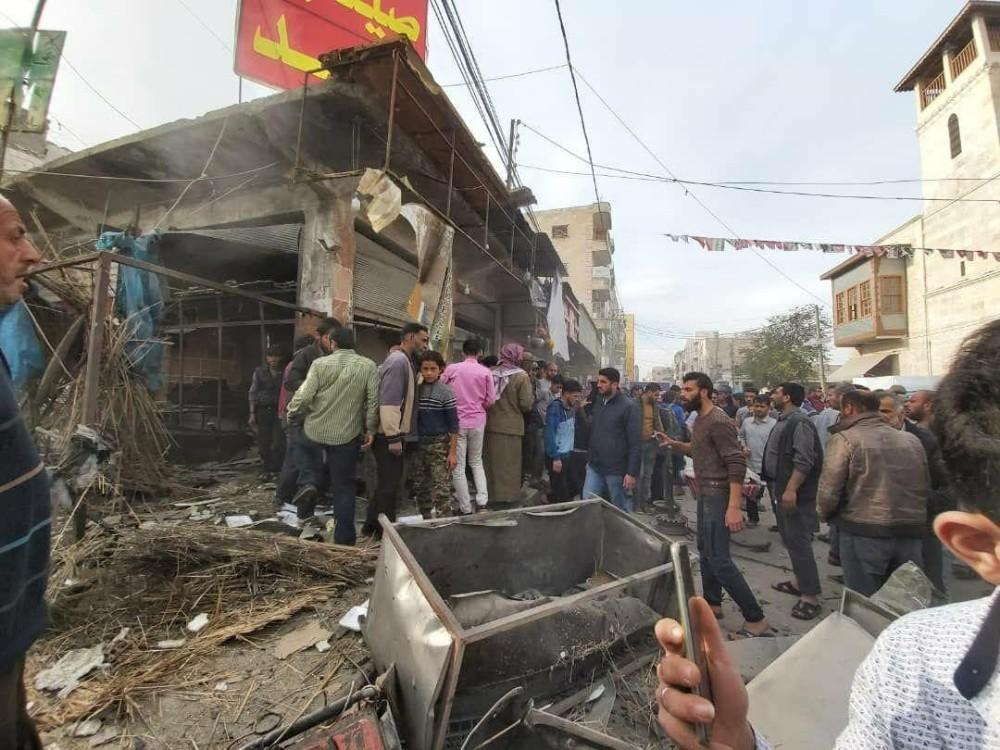 El Bab'ta patlama: 3 yaralı