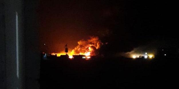 El-Bab'ta patlama! Yaralılar var