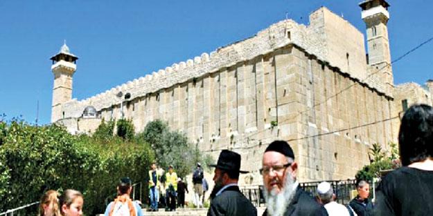 El-Halil Camii'ne baskın yapacaklar! 25 bin Yahudi büyük provokasyon peşinde