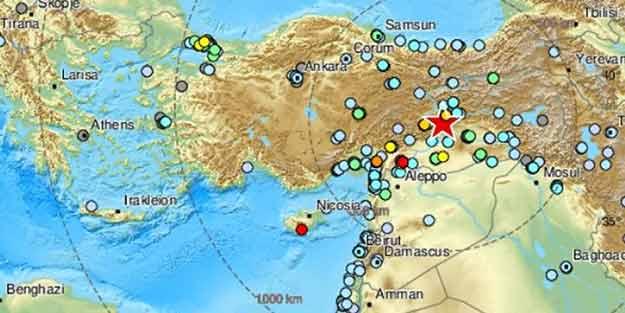 Elazığ depremi ile ilgili gündemi sarsacak harita!