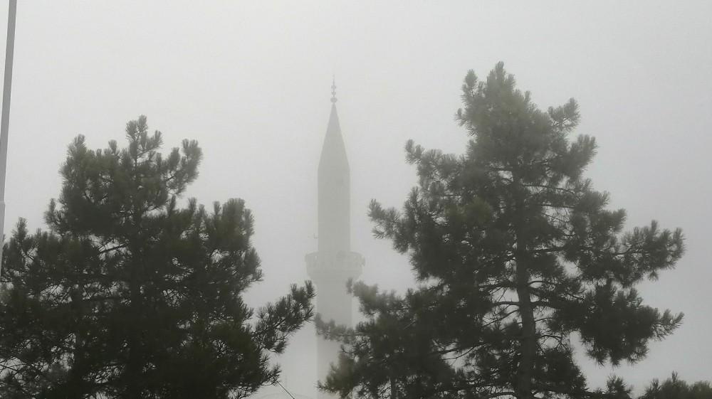 Elazığ'da 6 gündür yoğun sis etkisini sürdürüyor
