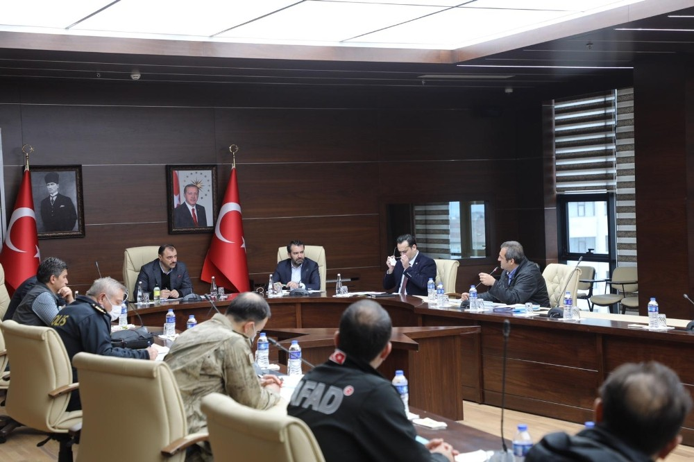 Elazığ'da Pandemi Kurulu'nun kararları açıklandı