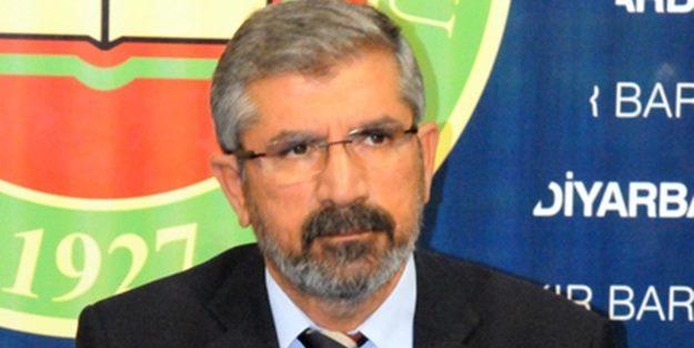 Diyarbakır Barosu'ndan Tahir Elçi kararı