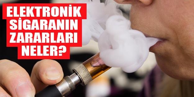 Elektronik sigara zararlı mı? Elektronik sigara öksürük, bronşit ve astıma mı neden oluyor?