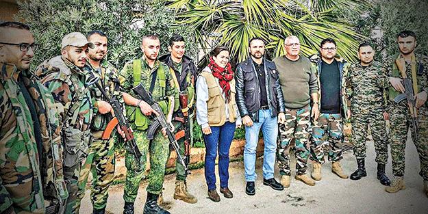 Eli kanlı katilleri seviyorlar! Fransa, YPG'yle STK'sı Esed'le flörtte