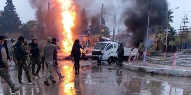Terör örgütü PKK/YPG'den kalleş saldırı